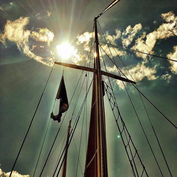 Sail Fearless mast